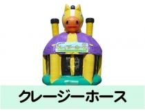 イベントレンタル【ドーム型 エア遊具】クレイジーホース