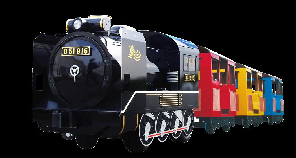 D51(デゴイチ)ロードトレイン