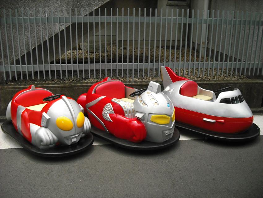【イベントレンタル】ウルトラマンのバッテリーカー