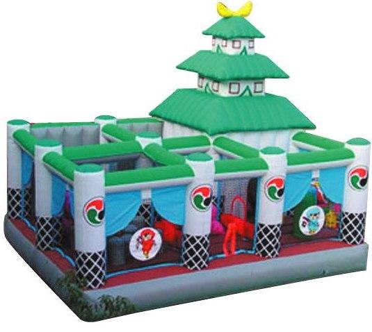 プレイランド型エア遊具【風雲忍者城】